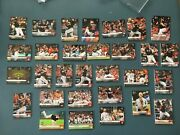 2019 Topps Now Washington Nationals Ws Team Set And 30 Playoff Cards