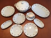 Mid Century Ginori Dinner Set For 12 With 43 Pieces - 1947 Marked