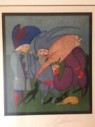 Mihail Chemiakin Carnival Series Ltd Ed Signed And Numbered 151/300