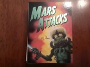 Mars Attacks Signed/autographed Trading Card Set Complete-topps-great Condition
