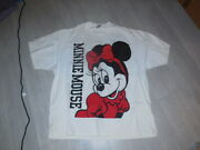 Gorgeous Minnie Mouse T Shirt Disney Designs Usa 100 Cotton Size 4xl Must See