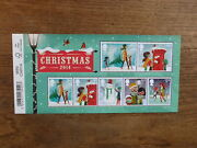 Great Britain 2014 Christmas 6 Stamp Mini Sheet Mint Stamps