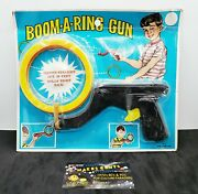 Vintage Model Shoot'em Out Toy Boom-a-ring Game Brand New On Original Card