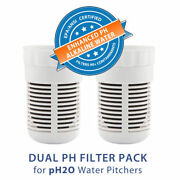 Seychelle Ph2o 2 Pack Alkaline Pitcher Replacement Filter 1-40500-2