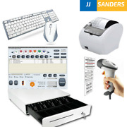 Point Of Sale Pos System Includes Software Barcode Scanner Thermal Printer Cash