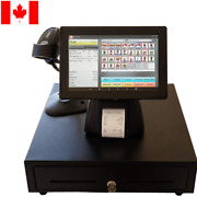 Tablet 10'' Entry Level Pos Point Of Sale System Combo Kit Retail Store Canada