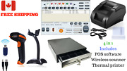 Low Price Entry Level Pos Point Of Sale System Combo Kit Retail Store Canada