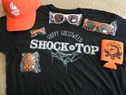 Brand New Shocktop Shirt, Hat, Glasses, Cuzzy, Necklace, And Bottle Opener