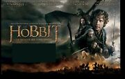 Poster 13 1/12x9 10/12ft The Hobbit Battle Of 5 Armed - 2014 Peter Jackson New