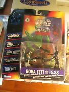 Boba Fett Ig-88 Shadows Of The Empire 2-pack Foreign W/ Comic Sealed Star Wars