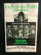Terror In The Wax Museum 1973 One Sheet Movie Poster Horror Ray Milland