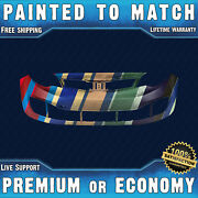 New Painted To Match Front Bumper Cover Replacement For 2012-2015 Kia Rio Sedan