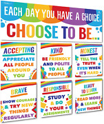Sproutbrite Classroom Banner Decorations And Poster Bulletin Board Set - Choose
