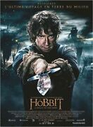 Poster Roll 47 3/16x63in The Hobbit, The Battle Of 5 Armed - Peter Jackson