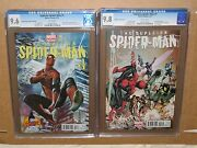 Superior Spiderman 1 1st First Hastings Variant Cgc 9.8 Comic No Amazing 700 300