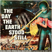 The Day The Earth Stood Still - Oversized Fine Art Print - Large Movie Poster