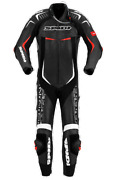 Spidi Track Wind Replica Evo Motorcycle Racing Leather Suit Y134