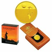 💰2008 Kangaroo At Sunset 25 1/5oz Gold Proof Coin - Ram - 2nd Coin In Series