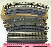 Mth Realtrax 40-1002 - 8 - 0-31 Curved, 40-1001 - 2 - 10 Straight Track Sectio