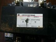 Ge General Electric Cr161h01904a Motor Starter Nema Size 5 3 Phase Used Good