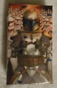 Topps Star Wars Attack Of The Clones 3d Widevision Factory Box Set Autograph