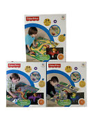 Fisher-price Little People World Of Wheelies Around The Town Floor Puzzle 24 Pcs