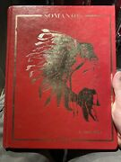 1986 Manchester Connecticut High School Yearbook Somanhis Book Ct Hs Rare Lot A