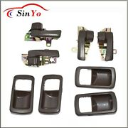Set 4 Inside Door Handle Front Rear Left Right For Toyota Camry 92 93 94 95 96