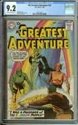 My Greatest Adventure 25 Cgc 9.2 Ow/wh Pages