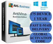 Avg Antivirus Business Edition 175 Pc / 1 Year Global Activation Code