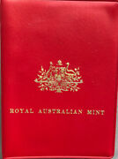 💰1974 Uncirculated 6 Coin Set In Ram Red Wallet Royal Australian Mint