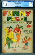 Funny Pages Vol.2 6 Cgc 1.5 1938 1st Centaur Issue-2109537001