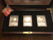 Pete Rose Autographed National Baseball Hall Of Fame U.s. Commemorative Coins