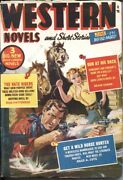 Western Novels And Short Stories--june1952-norman Saunders Gga Cover-- Pulp T...