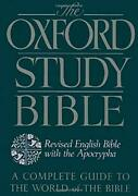 The Oxford Study Bible Revised English Bible W, Suggs, Sakenfeld, Mueller..