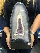 So Pretty Amethyst Geode Crystallized Crystal 8 Kg = 17 Lbs Offers Welcome