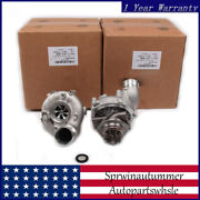 Left Andright Turbocharger Turbo Chargers Half Assembly Fit For Audi A6 A7 A8 4.0t