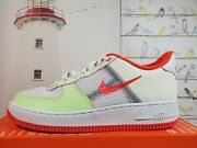 Nike Air Force 1 And03907 Lv8 1 And039transparent White Crimsonand039 Ci0060-102 Mens 9