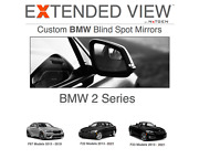 Extended Viewandtrade Bmw 2 Series Blind Spot Mirrors | F22 F23 Blind Spot Mirrors