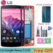 Lcd Touch Screen Digitizer Display With Frame For Lg Google Nexus 5 D820 D821