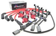 Mazda Rx8 Rx-8 Gm Ignition Coil Kit W/ Ngk Plugs / 10mm Wires / Bracket / Loom