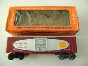 Lionel 6464-375 Central Of Georgia Boxcar Red Lettering-mint Ob