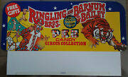 ✰ 1960and039s Pez Ringling Bros Barnum Bailey Circus Header Card From No Feet Display