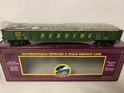 ✅mth Premier Reading Gondola Car And Junk Scrap Load Steel Mill For O Scale Set