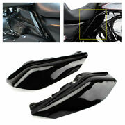 Motorcycle Engine Heat Shield Air Deflector Trim For Harley Touring Road King