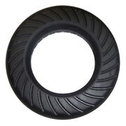 Go-ped Go-active 6 Solid Hard Rubber Tire For Mach 12 Or 3-spoke Type Wheel