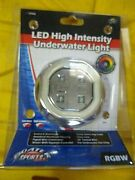 Boaters Sports 39472 High Intenity Underwater Light 4 Color Newest Version Out