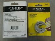 Apollo Quick Cit Pipe Cutter 1/2 Copper Pex And Pvc. New In Package