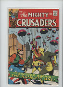 Mighty Crusaders 5 Hi Grade 9.0 Action Packed Cover Gem