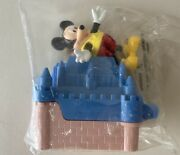 Disneyland Paris Blockbuster Exclusive 1996 Mickey Mouse + Castle Toy New